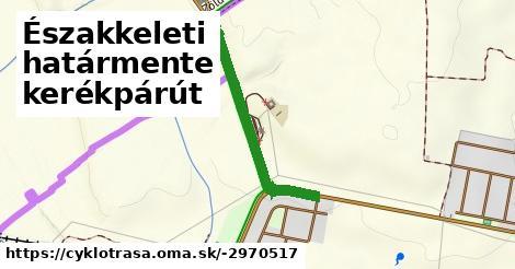 ilustračný obrázok k Északkeleti határmente kerékpárút
