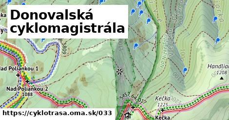 ilustračný obrázok k Donovalská cyklomagistrála