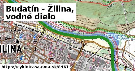 ilustračný obrázok k Budatín - Žilina, vodné dielo