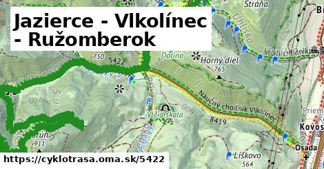 ilustračný obrázok k Jazierce - Vlkolínec - Ružomberok