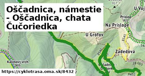 ilustračný obrázok k Oščadnica, námestie - Oščadnica, chata Čučoriedka