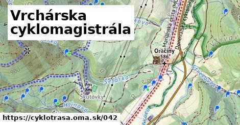 ilustračný obrázok k Vrchárska cyklomagistrála