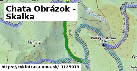 ilustračný obrázok k Chata Obrázok - Skalka