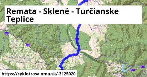 ilustračný obrázok k Remata - Sklené - Turčianske Teplice