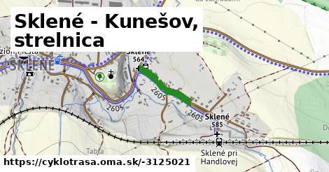 ilustračný obrázok k Sklené - Kunešov, strelnica