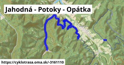 ilustračný obrázok k Jahodná - Potoky - Opátka
