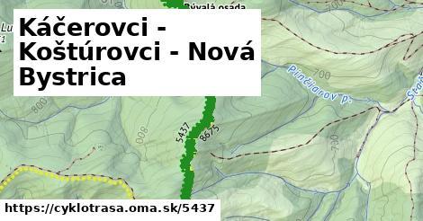 ilustračný obrázok k Káčerovci - Koštúrovci - Nová Bystrica