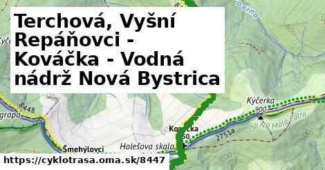 ilustračný obrázok k Terchová, Vyšní Repáňovci - Kováčka - Vodná nádrž Nová Bystrica