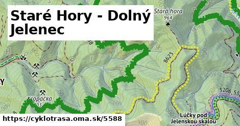 ilustračný obrázok k Staré Hory - Dolný Jelenec