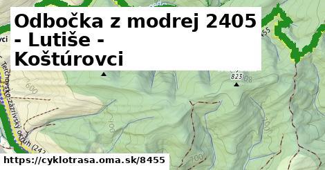 ilustračný obrázok k Sedlo Melišovci - Lutiše - Koštúrovci