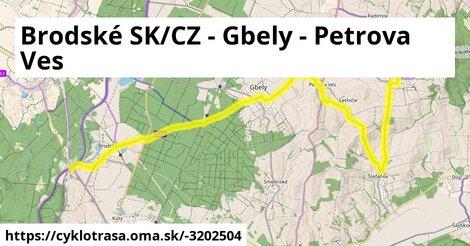 ilustračný obrázok k Brodské (CLO) – Brodské – Gbely - Letničie
