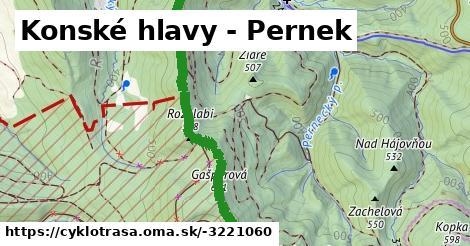ilustračný obrázok k Konské hlavy - Pernek