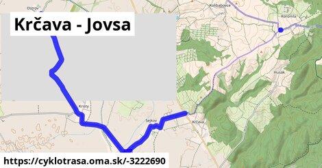 ilustračný obrázok k Krčava - Jovsa
