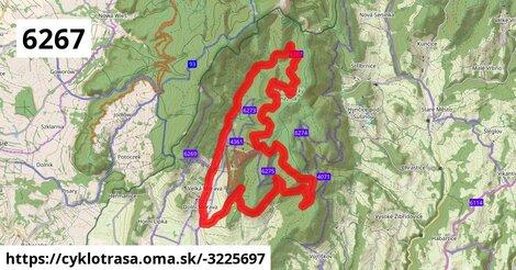 6267 Dolní Morava - okruh přes Slamník - Kaskády
