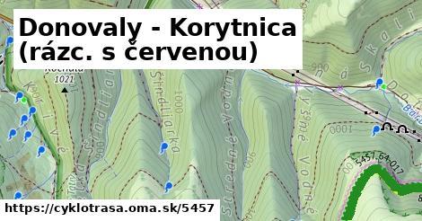 ilustračný obrázok k Donovaly - Korytnica (rázc. s červenou)