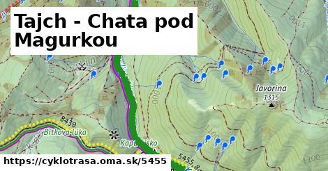 ilustračný obrázok k Tajch - Chata pod Magurkou