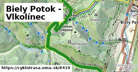 ilustračný obrázok k Biely Potok - Vlkolínec