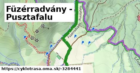 ilustračný obrázok k Füzérradvány - Pusztafalu