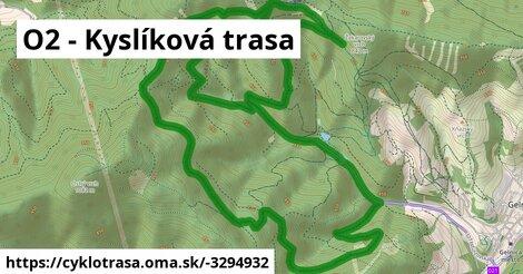 O2 - Kyslíková trasa