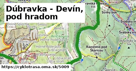 ilustračný obrázok k Dúbravka - Devín