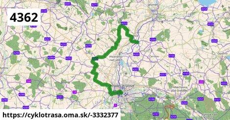 4362 Archeostezka Smiřice - Všestary - Hradec Králové