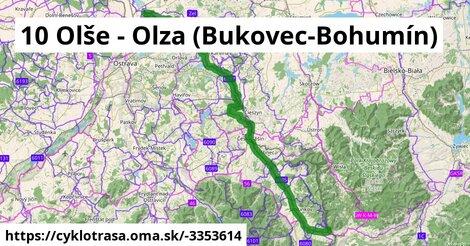 10 Olše - Olza (Bukovec-Bohumín)