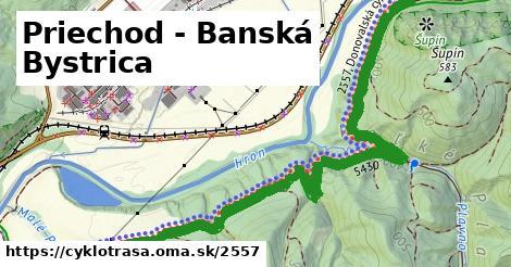 ilustračný obrázok k Priechod - Banská Bystrica