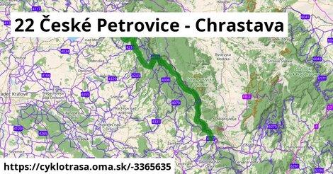 22 České Petrovice - Chrastava