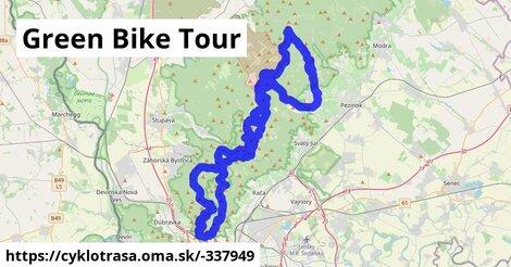ilustračný obrázok k Green Bike Tour