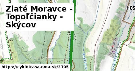 ilustračný obrázok k Zlaté Moravce - Topoľčianky - Skýcov