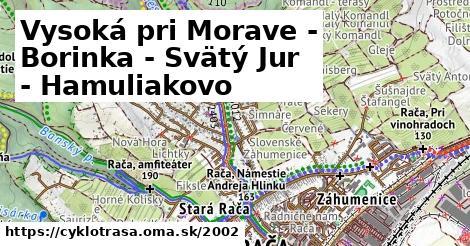 ilustračný obrázok k Vysoká pri Morave - Stupava - Borinka - Košarisko - Svätý Jur