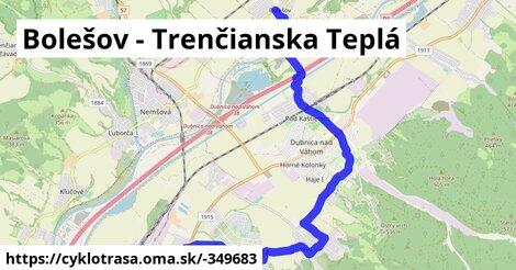 ilustračný obrázok k Bolešov - Trenčianska Teplá