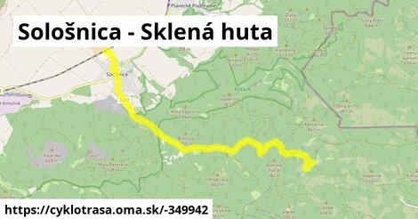 ilustračný obrázok k Sološnica - Sklená huta