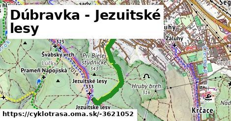 Dúbravka - Jezuitské lesy