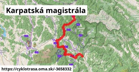 ilustračný obrázok k Karpatská magistrála