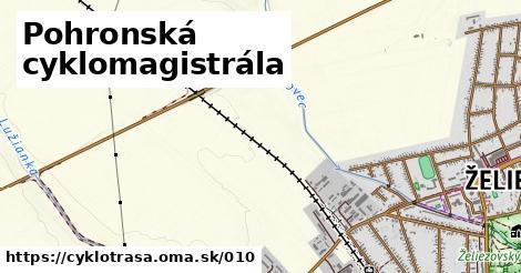 ilustračný obrázok k Pohronská cyklomagistrála