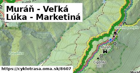 ilustračný obrázok k Muráň - Veľká Lúka - Marketiná