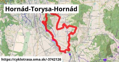 ilustračný obrázok k Hornád-Torysa-Hornád
