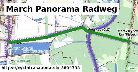 ilustračný obrázok k March Panorama Radweg