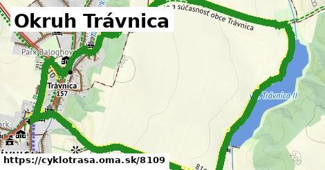 ilustračný obrázok k Okruh Trávnica