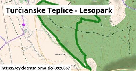 Turčianske Teplice - Lesopark
