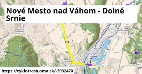 ilustračný obrázok k Nové Mesto nad Váhom - Dolné Srnie
