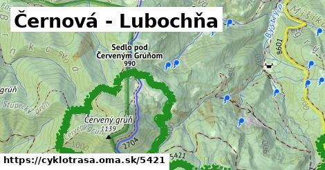 ilustračný obrázok k Černová - Lubochňa