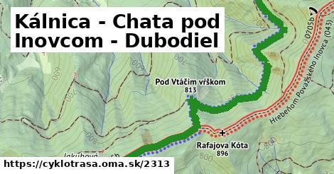 ilustračný obrázok k Kálnica - Chata pod Inovcom - Dubodiel