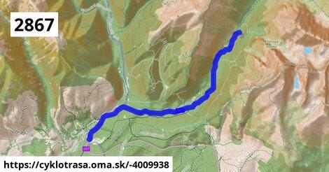 ilustračný obrázok k Pod kravskou cestou - Kôprová dolina - Kmeťov vodopád