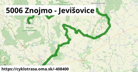 5006 Znojmo - Jevišovice