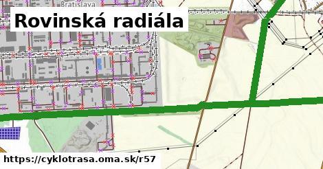 ilustračný obrázok k Rovinská radiála
