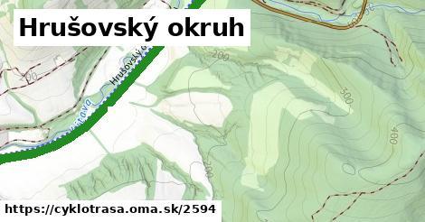 ilustračný obrázok k Hrušovský okruh