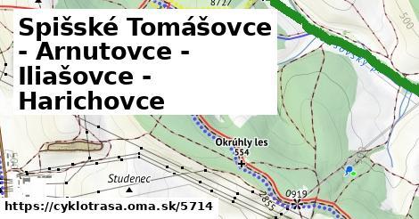 ilustračný obrázok k Spišské Tomášovce - Arnutovce - Iliašovce - Harichovce