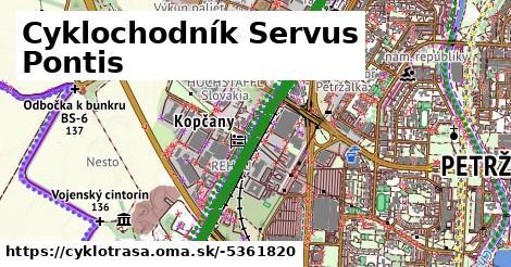 ilustračný obrázok k Cyklochodník Servus Pontis d5ef1cc2ede